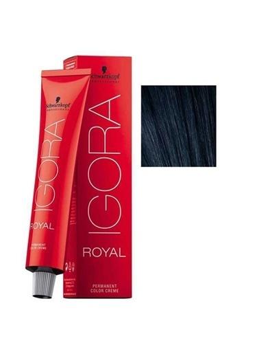 Schwarzkopf Igora Royal No:1-1 Siyah-Sandre Saç Boyası Siyah